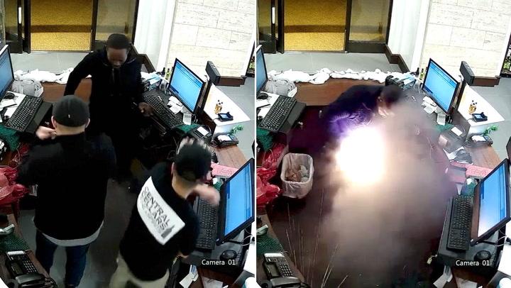 Mannen får tredjegradsforbrenninger av e-sigarett