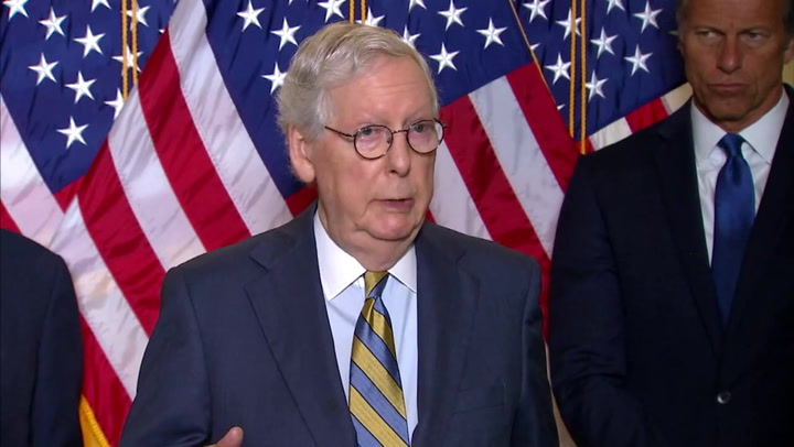 Mitch McConnell calls voting rights bill 'unnecessary'