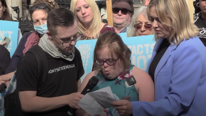 Woman with Down's syndrome loses abortion law case but vows to keep fighting