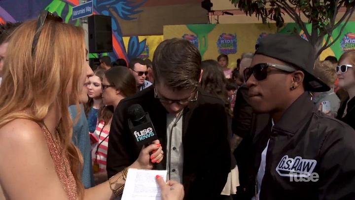 Interviews:Kids Choice Awards: MTKO Interview