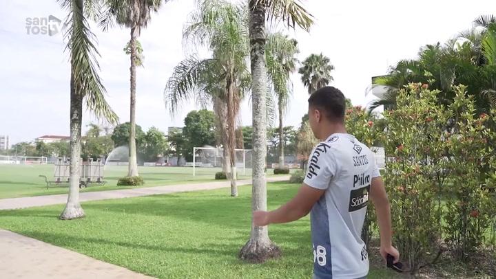 Santos continua preparação para clássico contra o Palmeiras no Brasileiro