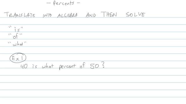 Percents - Problem 8