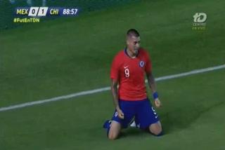Chile derrota a México con un gol agónico en Querétaro