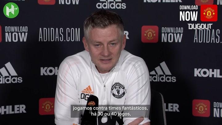 """""""Somos uma das equipes mais consistentes da Premier League"""", diz Solskjaer"""