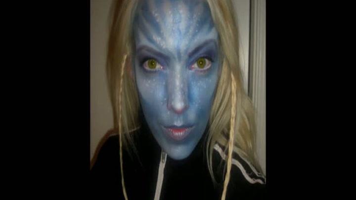 Halloween: Hvordan legge avatar-sminke
