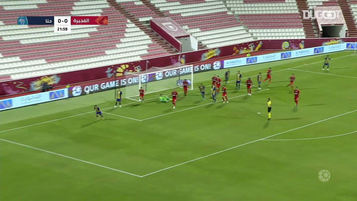 Arabian Gulf League: Fujairah 0-1 Hatta