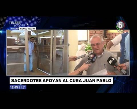 Sacerdotes se solidarizaron con el cura de la parroquia baleada en barrio Larrea