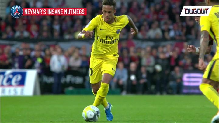 Neymar's Insane PSG Nutmegs!