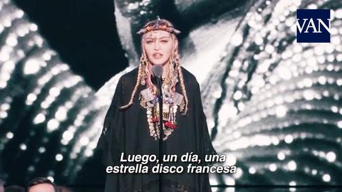 Madonna fue criticada por el tributo a Aretha Franklin en los premios MTV