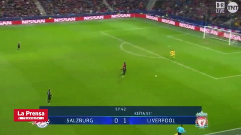 Salzburgo 0-2 Liverpool (Champions League)