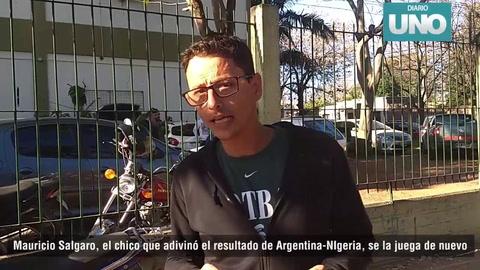 El chico de San Agustín que acertó el resultado ante Nigeria dio su pronóstico para el partido con Francia