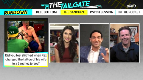 The Tailgate: Mark Sanchez joins and shares some of his favorite Rex Ryan memories