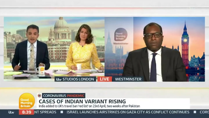 GMB's Adil Ray slams government's 'catastrophic error' over Indian Covid variant