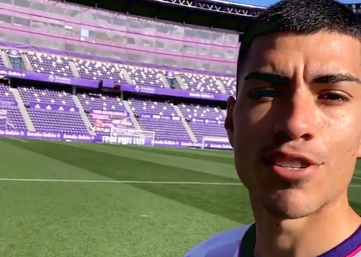 Lucas Olaza llega al Valladolid