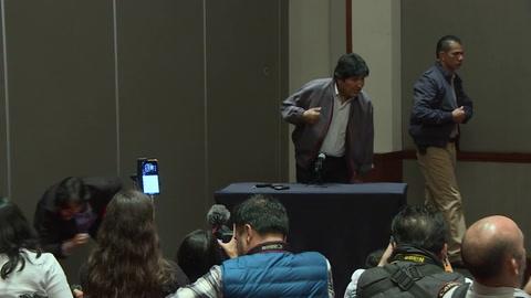 Morales pide ayuda internacional para frenar el