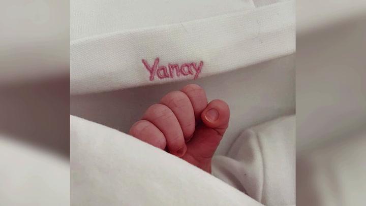 Edurne y De Gea dan la bienvenida a su primera hija, Yanay