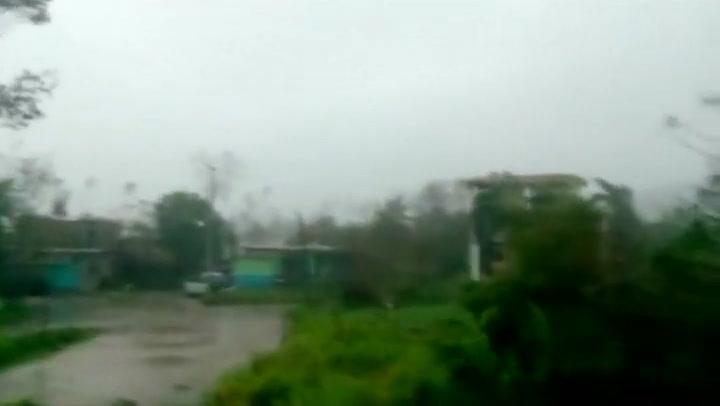 Orkaan Patricia neemt flink in kracht af