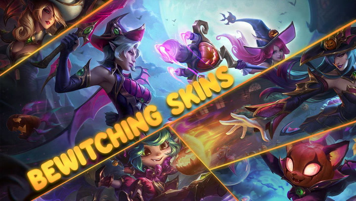 Halloween-themed skins coming to League of Legends