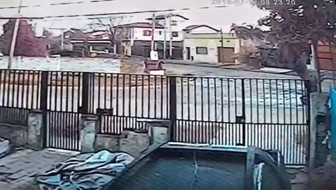 Las imágenes del impactante momento en que una mujer intenta ser secuestrada