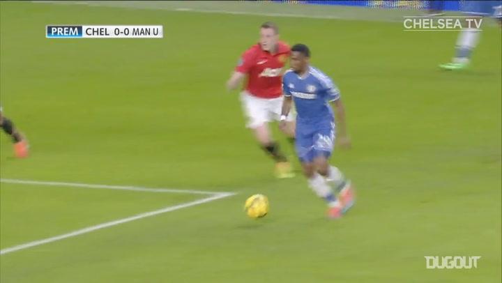 El hat-trick de Samuel Eto'o con el Chelsea ante el Manchester United
