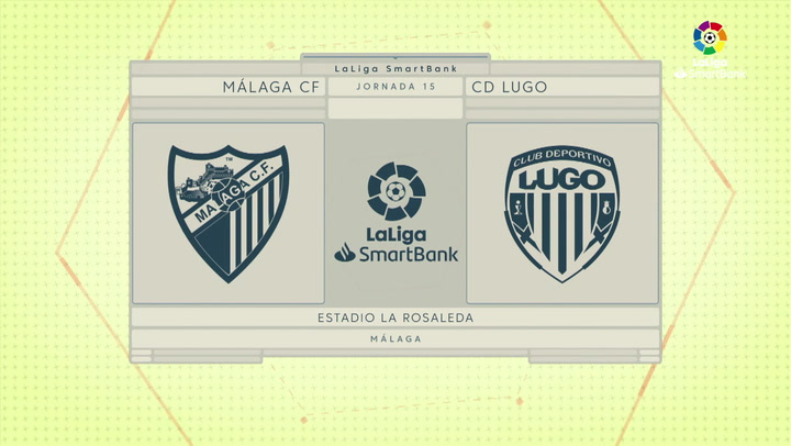 LaLiga SmartBank (J15): Málaga 2-2 Lugo