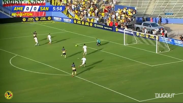 Club América's 3-0 win vs Santos FC in 2018