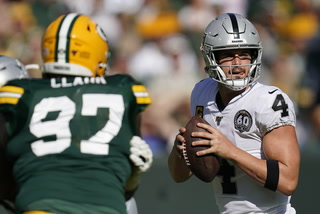 Raiders lose to Packers 42-24 in Green Bay – VIDEO