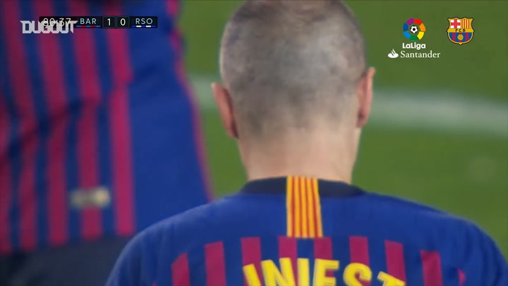 Andrés Iniesta's Last Moments as a Barça Player