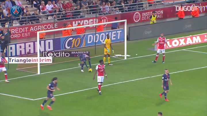 Kylian Mbappé's superb goal against Reims last year