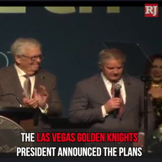 Golden Knights president announces new hockey arena in Henderson – VIDEO