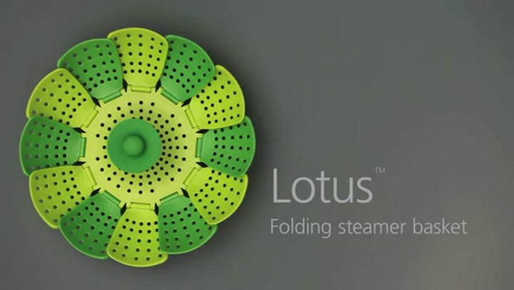 Preview image of Joseph Joseph Lotus Steamer Basket video