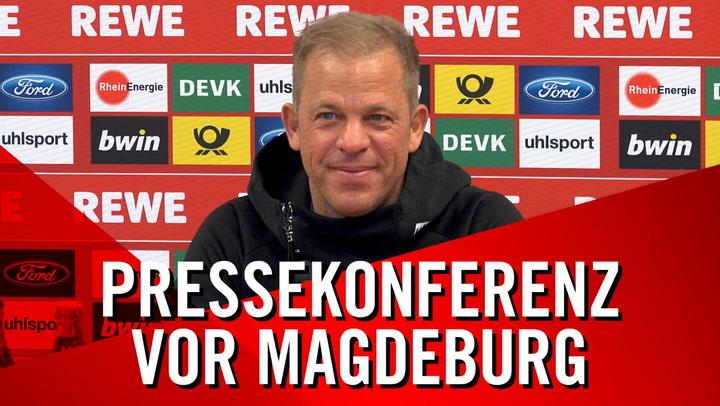 PK vor Magdeburg