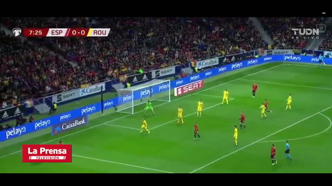 España 5-0 Rumania (Eliminatoria rumbo a la Euro 2020)