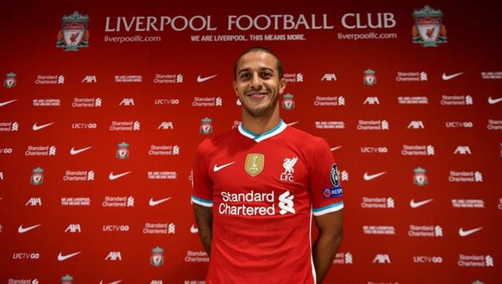 Thiago Alcántara, nuevo jugador del Liverpool