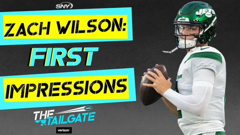 Impressions of Zach Wilson's NFL debut with Patriots matchup looming