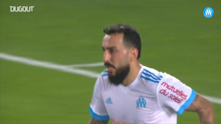 Mitroglou secures a draw for OM at Strasbourg