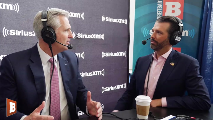 Don Jr., Kevin McCarthy: The Democrat Party Is No More, 'This Is the Socialist Democratic Party'