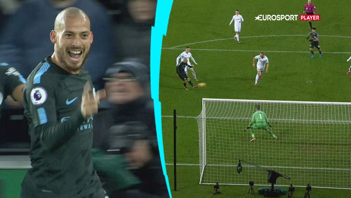 Highlights: Manchester City smadrede Swansea 0-4!