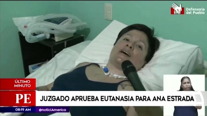 Ana Estrada: Corte Superior de Justicia de Lima ordena al Minsa y a EsSalud permitirle acceder a la eutanasia