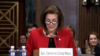 Sen. Cortez Masto shows support for Judge Togliatti – VIDEO