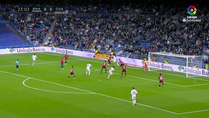 Vinicius reclamó un penalti de Lucas Torró