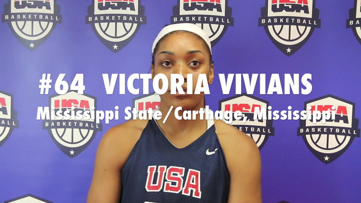 WPAG/WWUG Trials Player Victoria Vivians