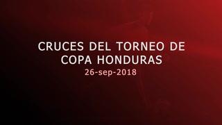 Así quedan los cruces de la Copa Presidente este 26 de septiembre