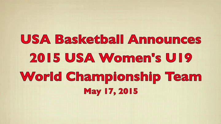 Dawn Staley On 2015 WU19 Team