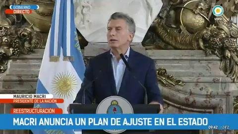 Macri anunció un ajuste en los cargos políticos del Estado