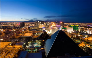 A decade on the Las Vegas Strip in 75 seconds