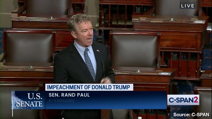 """Rand Paul: Democrats Plan to """"Drag"""" Country """"Down into Gutter"""" with Impeachment"""