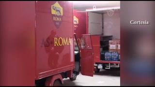 ¡Hermoso detalle! La Roma de Italia sorprende a sus socios mayores con regalos e insumos de primera necesidad