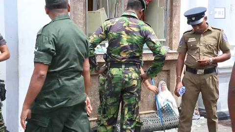 Sri Lanka rebaja casi 100 muertos las víctimas de los atentados, hasta 253