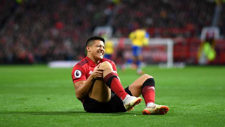 Alexis Sánchez se recupera de su lesión de rodilla